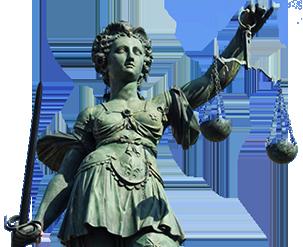 Justitia staty